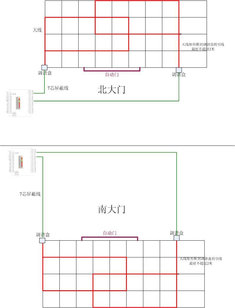 低频天线驱动电路图
